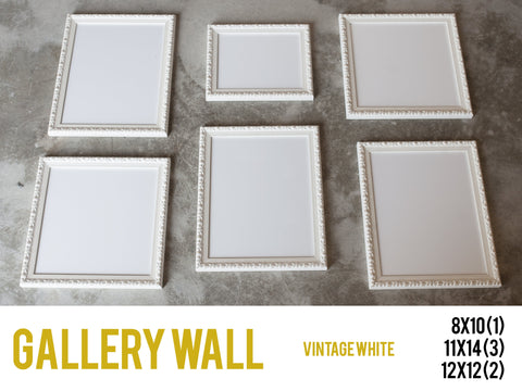 Gallery Wall Vintage White