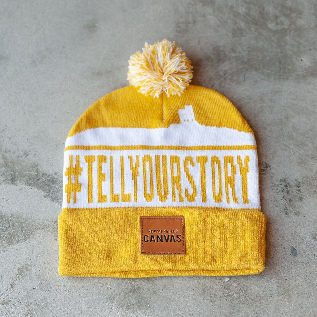 Tell Your Story Hat Newfoundland Canvas