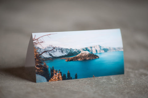 8x4 Panoramic Fold Card