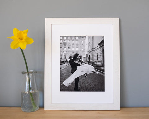 Do it Yourself Frame - White Newfoundland Canvas