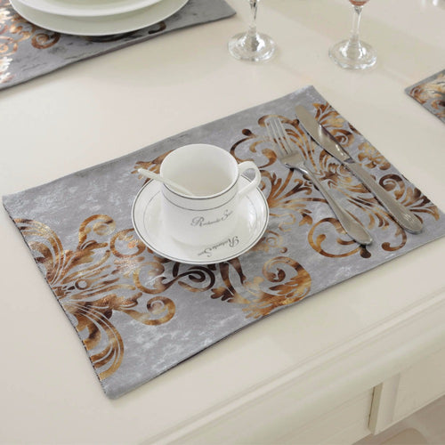 home 6pcslot 2638cm fashion luxury dinner placemats tableware pad for wedding party - Kitchen Table Mats