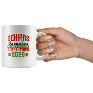 Seniors They Were Quarantined 2020-White Mug - HobnobStore