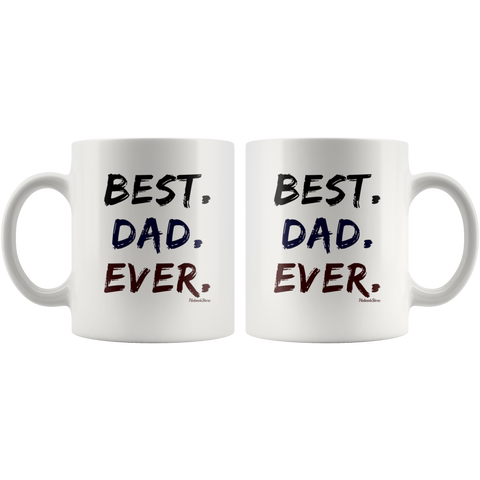 Best Dad Ever-White Mug - HobnobStore