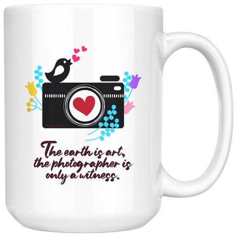 Image of The Earth is Art Coffee Mug - Hobnob Store