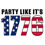 Party Like its 1776-White Mug