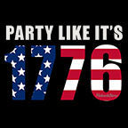Party Like Its 1776-Black Mug