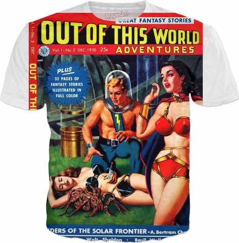 Comic Tee - Out Of This World