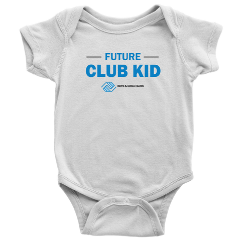 Boys and Girls Club Baby Onesie Bodysuit
