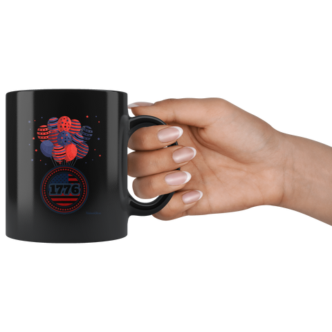 Image of 1776-Black Mug - HobnobStore