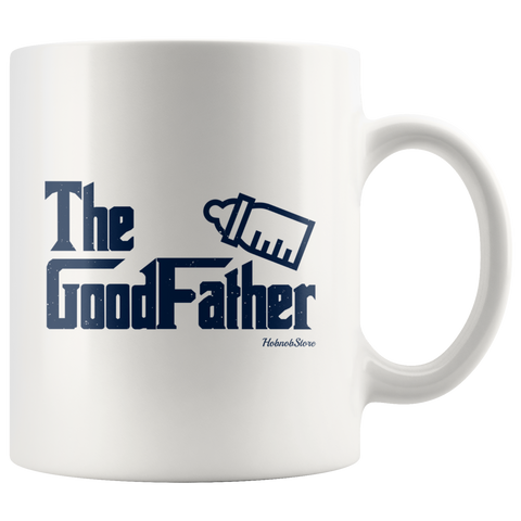 The GoodFather-White Mug - HobnobStore