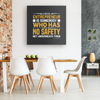 Image of A Real Entrepreneur Is Somebody Who Has No Safety Net-FREE Shipping - HobnobStore