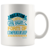 Image of Isolation Its Own Form Of Companionship-White Mug - HobnobStore