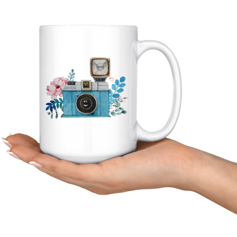 Flash Camera Coffee Mug - HobnobStore