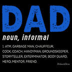 Dad Noun Informal-Black Mug