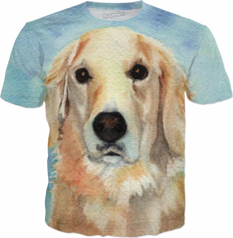 Golden Retriever T-Shirt - HobnobStore