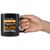 Image of Hard To Watch Isolation Basketball-Black Mug - HobnobStore