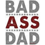 Bad Ass Dad-White Mug