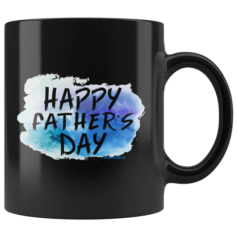 Happy Fathers Day-Black Mug - HobnobStore