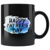 Image of Happy Fathers Day-Black Mug - HobnobStore