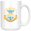 Image of Lot Of Things To Be Grateful-White Mug - HobnobStore