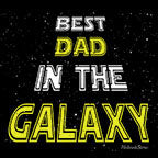 Best Dad In The Galaxy-Black Mug