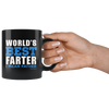 Image of Worlds Best Farter-Black Mug - HobnobStore
