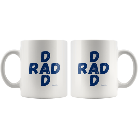Rad Dad-White Mug - HobnobStore