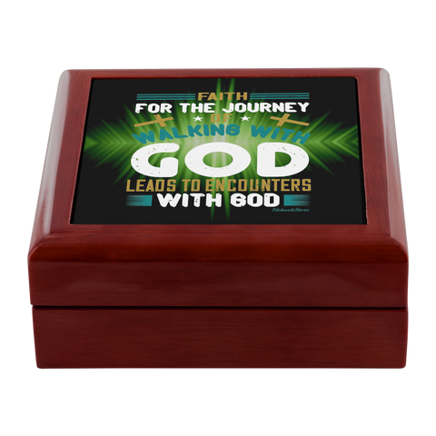 Image of Jewelry Box-Walking With God-FREE Shpping - HobnobStore