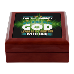 Jewelry Box-Walking With God-FREE Shpping - HobnobStore