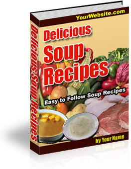 Delicious Soup Recipes - Free Download - HobnobStore