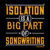 Image of Isolation Big Part Of Songwriting-Black Mug - HobnobStore
