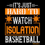 Hard To Watch Isolation Basketball-Black Mug