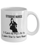 Image of Student Nurse - White Mug