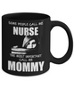 Image of Call Me Mommy - Black Mug - HobnobStore