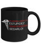 Image of Can't Fix Stupid-Black Mug - HobnobStore