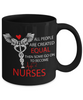 Image of Not Created Equal - Black Mug