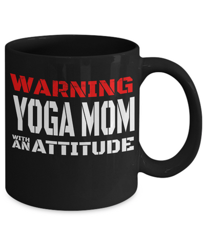 Image of Yoga Mom Attitude - HobnobStore