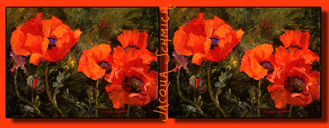 Image of Jacqua Schmich - Poppies - HobnobStore