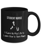 Image of Student Nurse - Black Mug