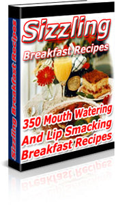 Sizzling Breakfast Recipes - Free Download - HobnobStore
