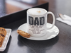 Image of Dad No Matter What-White Mug - HobnobStore