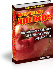 Mouth Watering Apple Recipes - Free Download - HobnobStore