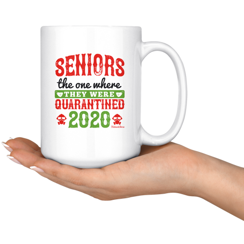 Image of Seniors They Were Quarantined 2020-White Mug - HobnobStore