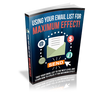 Image of Using Your eMail List for Maximum Effect - HobnobStore