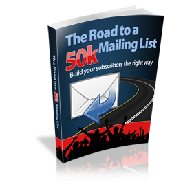 Road to a 50k Mailing List - Hobnob Store