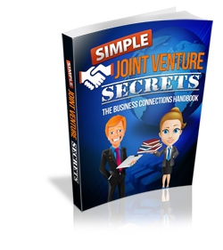 Simple Joint Venture Secrets - Hobnob Store