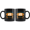 Image of Quarantine And Chill-Black Mug - HobnobStore