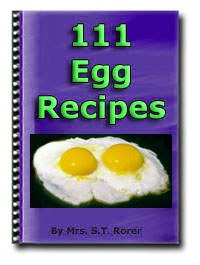 111 Egg Recipes - Free Download - HobnobStore