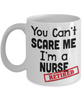 Image of Cant Scare Me - White - HobnobStore