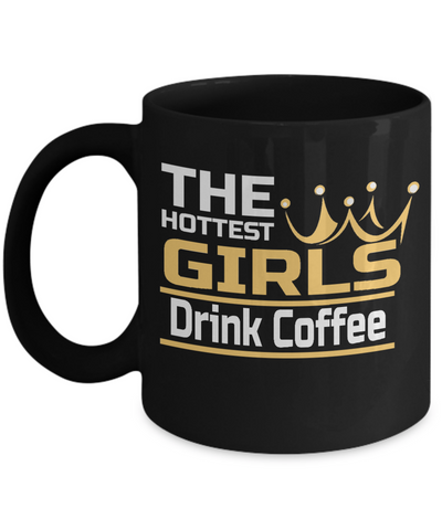 Hot Girls Drink Coffee